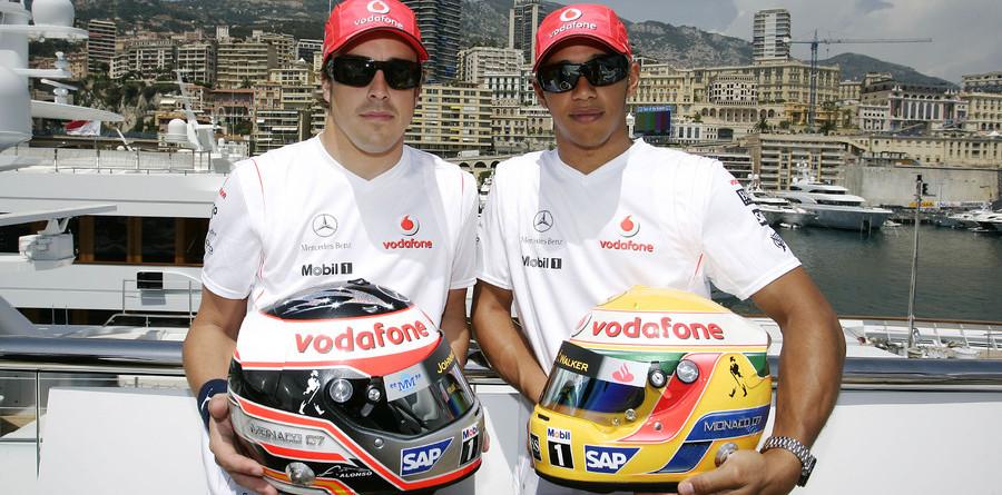 McLaren sets early Monaco GP pace