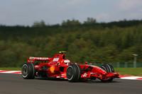 Ferrari leads in Belgian GP last practice