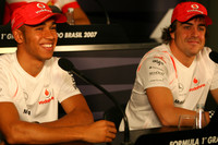 McLaren teammates play down tensions