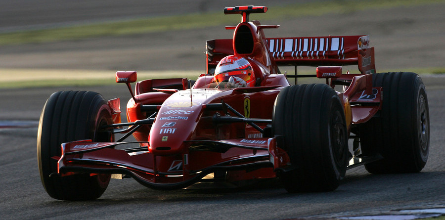 Schumacher top again at Barcelona testing