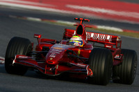 Barcelona test ends with Massa fastest