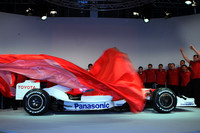 Toyota unveils their TF108 in Cologne