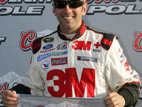 Biffle grabs pole and record at Darlington