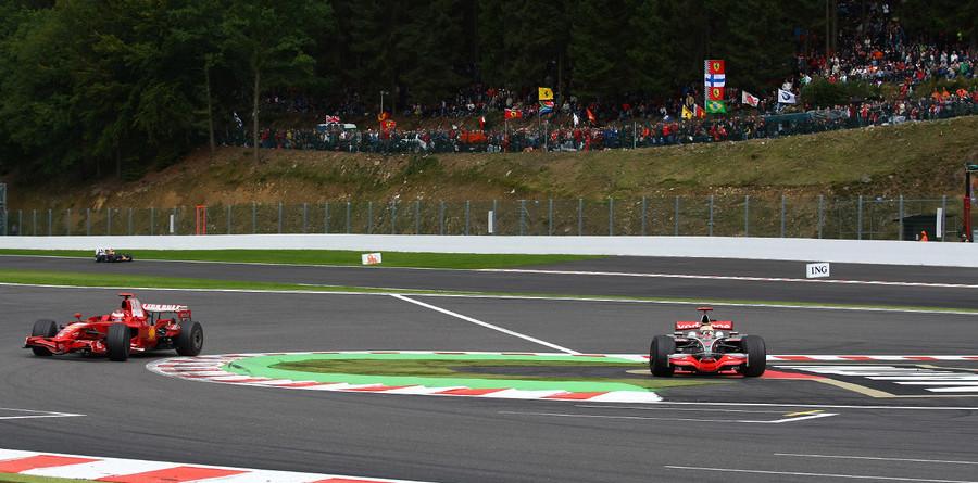 Hamilton stripped of Belgium victory
