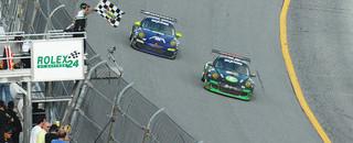 Grand-Am TRG Porsches bag 1-2 in GT at Daytona