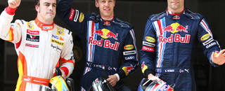 Vettel powers way to Chinese GP pole