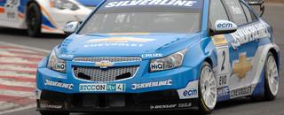 BTCC Plato tops first official BTCC test