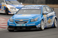 Plato tops first official BTCC test