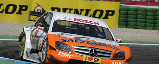Paffett leads Mercedes romp at Hockenheimring