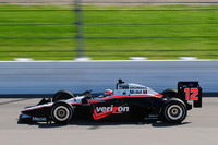 Power's Iowa pole extends Penske record