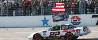 NASCAR XFINITY Keselowski earns his and Penske's first title in Texas