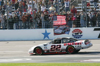 Keselowski earns his and Penske's first title in Texas