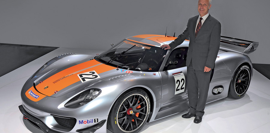 Le Mans more likely than F1 for Porsche - boss