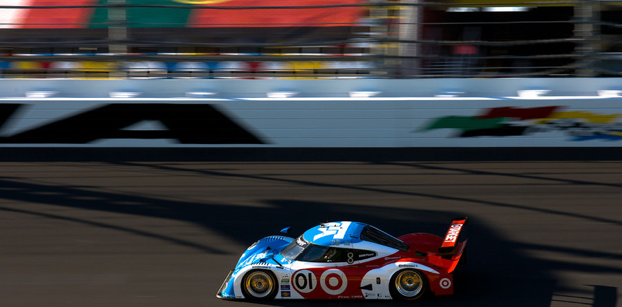 Pruett holds edge as hour 9 ends with caution at Daytona