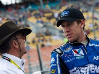 Edwards notches pole for Nationwide 300 in Las Vegas