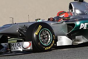 Pirelli says tyres not designed for Schumacher