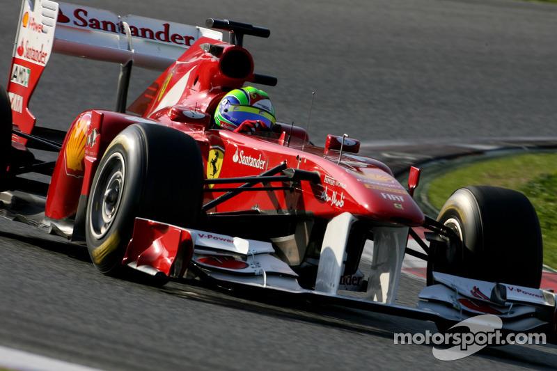 Ferrari Barcelona test report 2011-03-10