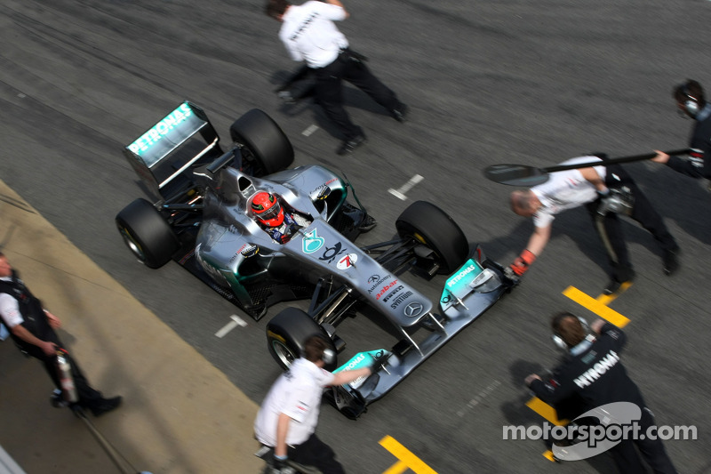 Mercedes Barcelona test report 2011-03-11