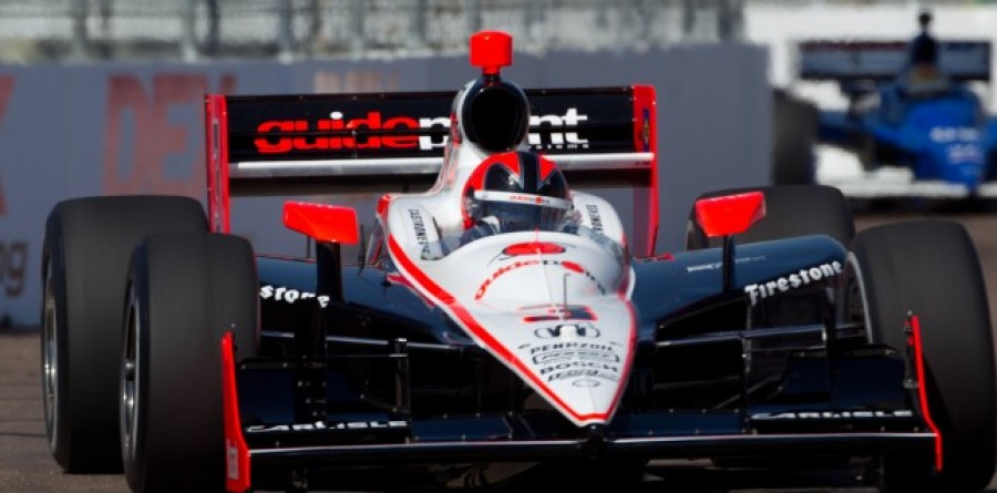 Team Penske Friday report