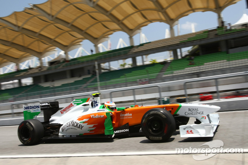 Force India Qualifying Report