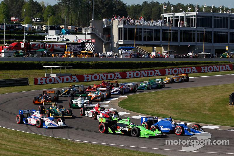 Newman/Haas Racing race report