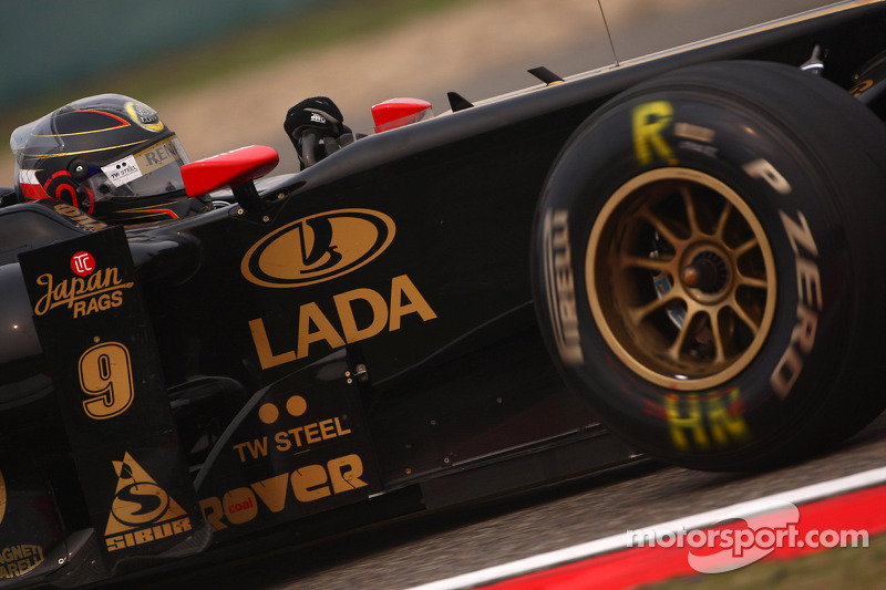 Lotus Renault Race Report