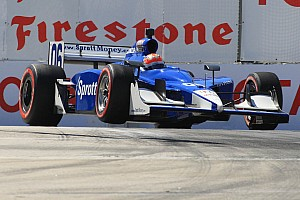 IndyCar Newman/Haas Racing qualifying report