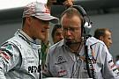 Schumacher should do 'as he likes' - Berger