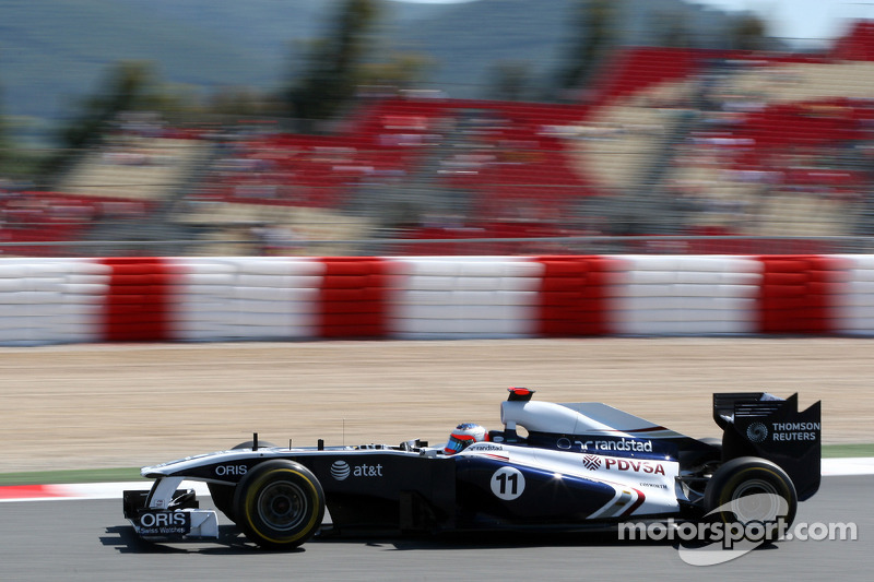 Williams gearing up for Monaco GP at Monte Carlo