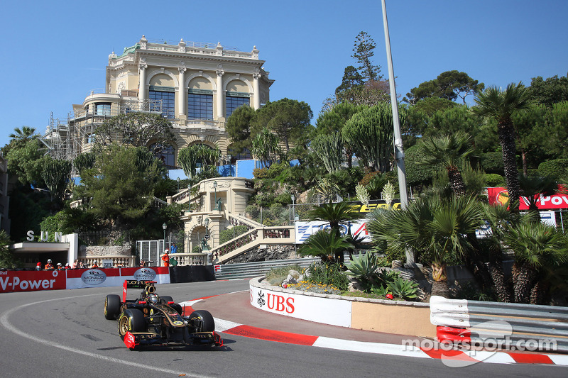 Lotus Renault Monaco GP Qualifying Report
