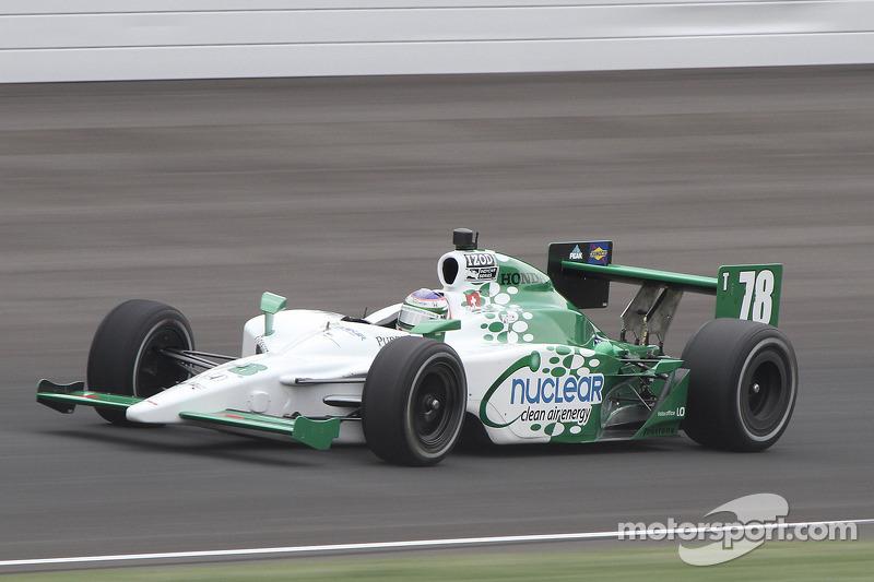 HVM Racing Indy 500 Race Report