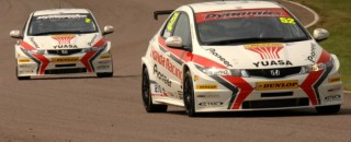 Honda Racing Dominate Oulton Park Qualifying