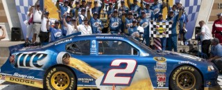 Brad Keselowski Kansas Race Report