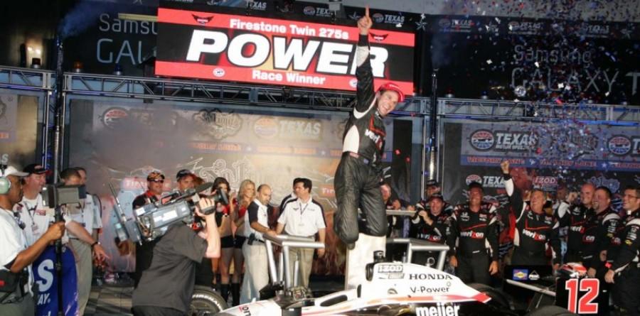 Team Penske Texas Race Report