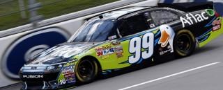 NASCAR Sprint Cup Edwards - Michigan Friday Media Visit