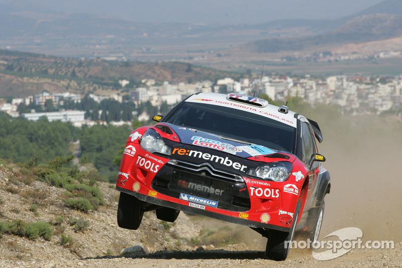 Citroen Racing Tech Acropolis Rally Event Summary