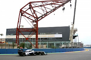 Williams European GP - Valencia Qualifying Report