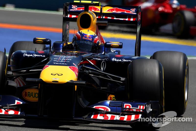 Webber Struggle Surprises Rivals Button, Heidfeld