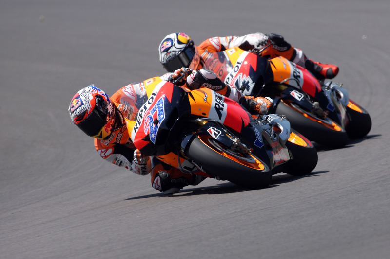Repsol Honda Arrives For German GP