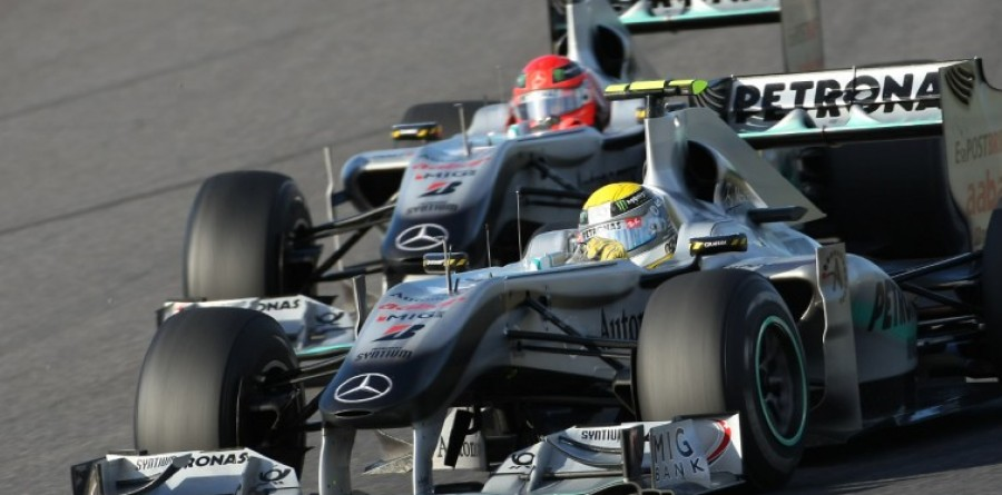 Mercedes Pair Hint 2012 F1 Lineup Not Changing