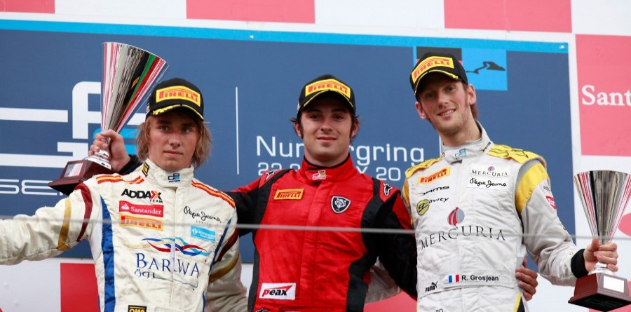 GP2 Nurburgring Feature Race Press Conference
