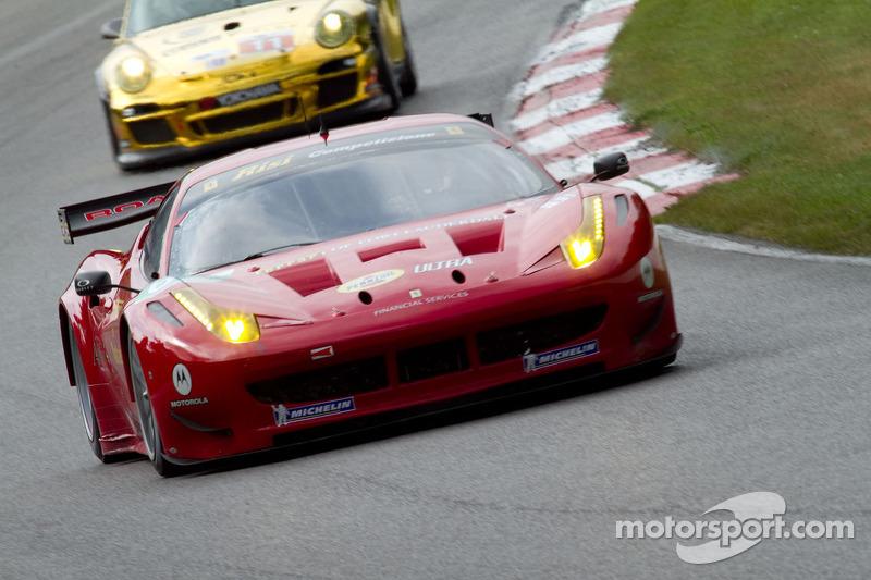 Risi Competizione Mosport Race Report