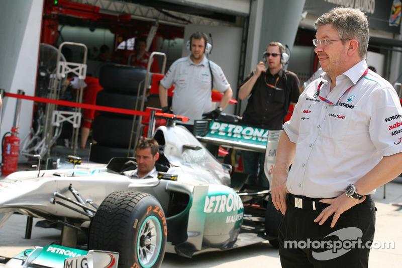 Brawn Admits To Own Mistakes In Mercedes Slump