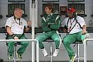 Team Lotus' Trulli and Gascoyne eye 2012