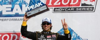 IndyCar Franchitti nabs New Hampshire pole in Loudon