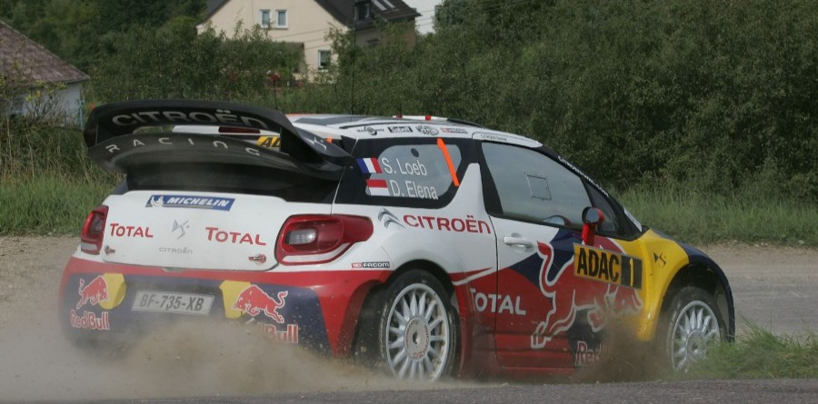 Loeb leads Citroën 1-2 on Rally Deutschland first day