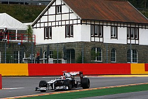Williams Belgian GP - Spa race report