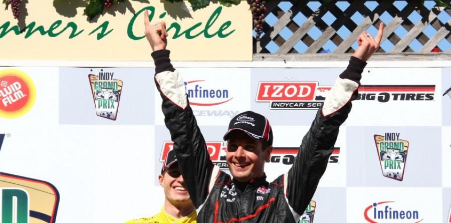 Team Penske sweeps the podium at Sonoma