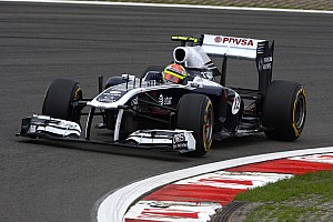 Williams has new front and rear wings for Italian GP at Monza