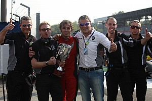 GP2 Scuderia Coloni Monza race 1 report